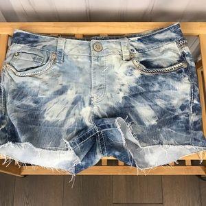 Amethyst Women's Jean Cutoff Shorts